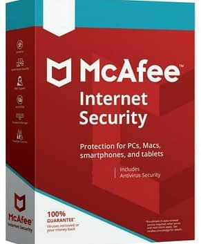 McAfee Internet Security 2021 (1 year, 1 device)