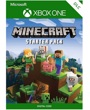 Minecraft – Starter Pack (Extension, game not included) (Xbox One)