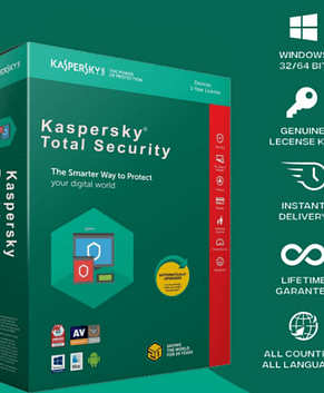 Kaspersky Total Security 2021 – 1 Device – 1 Year