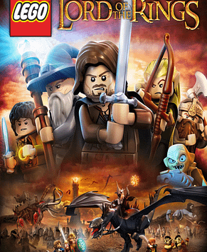 Based on The Lord of the Rings motion picture trilogy, LEGO The Lord of the Rings follows the original storylines of The Lord of the Rings: The Fellowship of the Ring, The Lord of the Rings: The Two Towers, and The Lord of the Rings: The Return of the King, taking players through the epic story events reimagined with the humor and endless variety of LEGO play. Trusted with the dangerous task to destroy an ancient magical ring that threatens all that is good, Frodo is forced to leave his peaceful home. But the ring wants to be found and the road to Mount Doom, the only place where it can be destroyed, will be perilous and riddled with Orcs and fouler things. To help Frodo, a Fellowship is formed —Aragorn the Ranger, Gandalf the Wizard, Legolas the Elf, Gimli the Dwarf, Boromir a Man of Gondor, and Frodo's Hobbit friends Sam, Merry and Pippin. Players relive the legend through the LEGO minifigures, as they explore wonders, solve timeless riddles, and overcome endless foes in their quest to destroy the Ring.