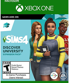 The Sims 4 – Discover University DLC XBOX One CD Key