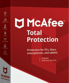 McAfee: Total Protection 2021 (1 year, 5 devices)